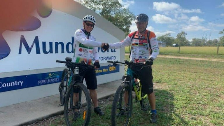 Queensland Old Legs Down Under Cycle Ride Completed