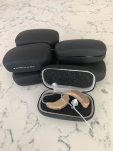 Donated hearing aids